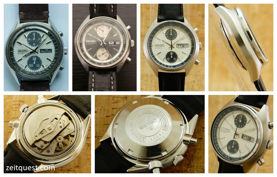 The legendary 6138 Panda chronographs. Available on eBay.