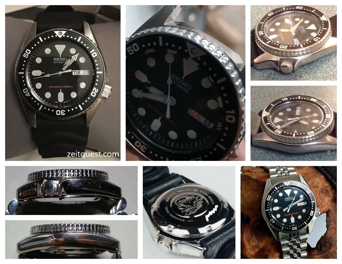 The Seiko SKX013 is a great looking dive watch for small wrists.
