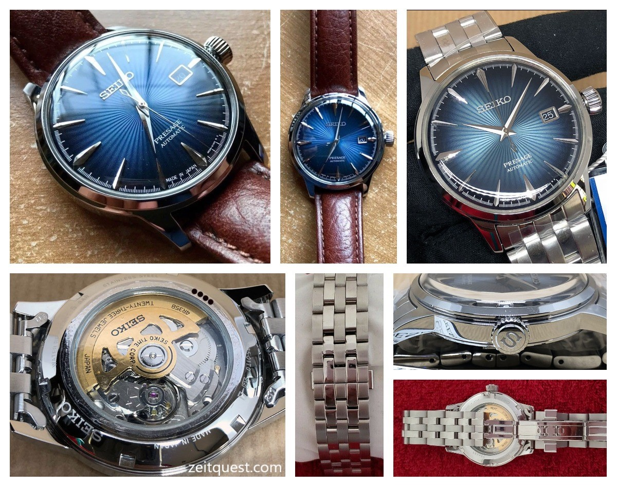 The Seiko SRPB41 from the Presage Cocktail Time series. Available now on eBay.