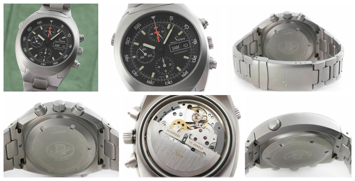 The Sinn 142 ST automatic chronograph, sold on ebay by Search on eBay