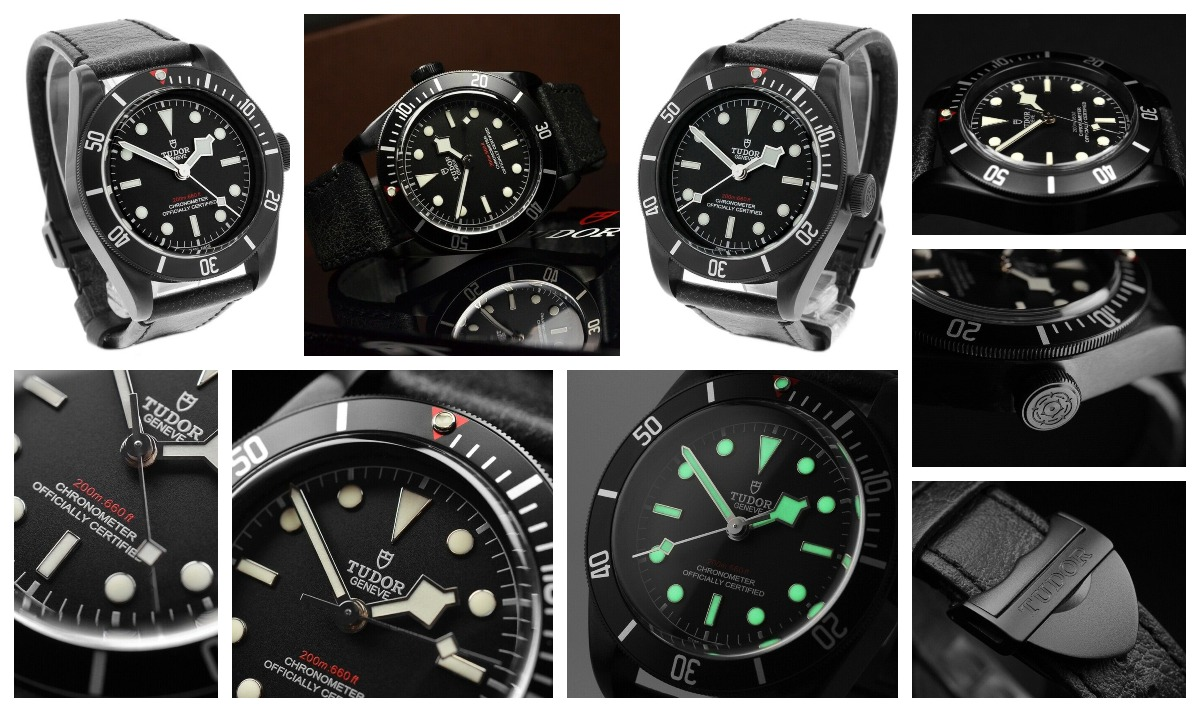 The Tudor Black Bay Dark 79230DK with a black PVD coating and a COSC Certified MT5602 movement. Available now on eBay